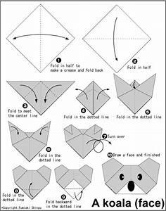 Origami Animaux Facile Gratuit : koala my little story corner ~ Dode.kayakingforconservation.com Idées de Décoration