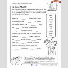 Mad Lib Parts Of Speech Practice  English Grammar  Grammar, Worksheets, Grammar Worksheets