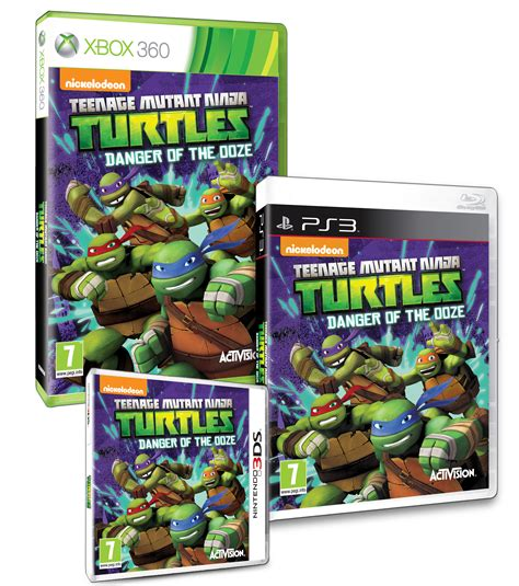 Tmnt Danger Of The Ooze Announced Coming To 3ds Ps3