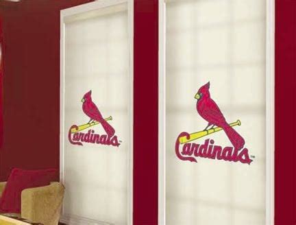 st louis cardinals mlb window shades
