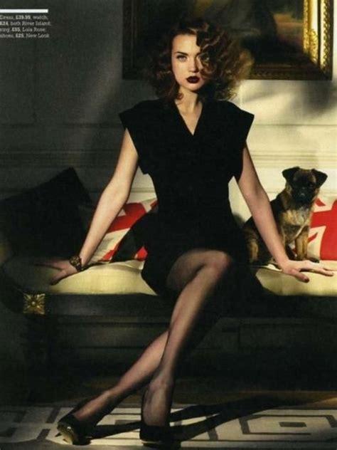 glamour pose vintage noir femme fatale editorial love