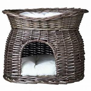 Panier Chat Pas Cher : panier chat trixie comfortable pas cher ~ Teatrodelosmanantiales.com Idées de Décoration