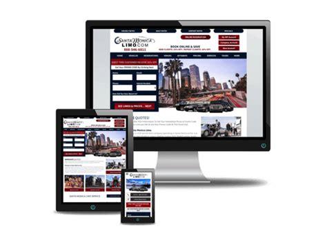 Limo Website by Responsive Web Design Los Angeles Kansas City Limo