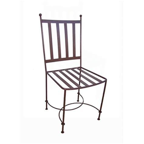 chaises fer forg chaise ibiza fer forgé