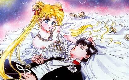 Sailor Moon Usagi Mamoru Crystal Wallpapers Background
