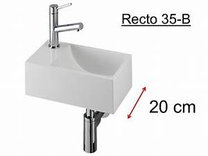 Mini Handwaschbecken Tiefe 20 Cm : badm bel waschbecken handwaschbecken lave mains waschbecken wc harz tiefe 20 cm recto 35 ~ Buech-reservation.com Haus und Dekorationen
