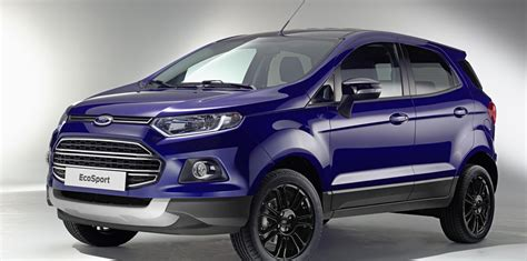 ford ecosport revealed updated