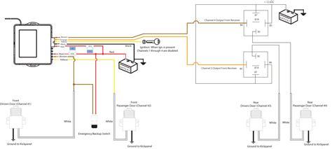 door kit wiring diagram autos post