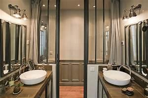salle de bain industrielle deco sphair With salle de bain industrielle