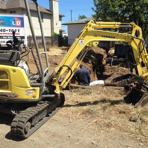 hr mini excavator  dump trailer duncan cowichan