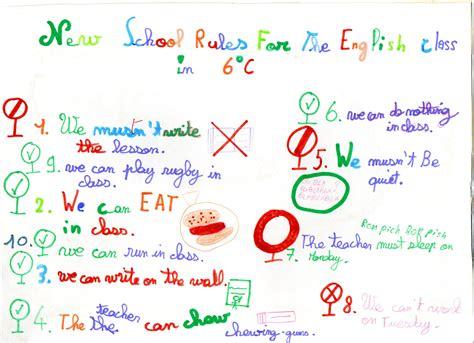 Regle De Vie De Classe En Anglais Ox16 Jornalagora