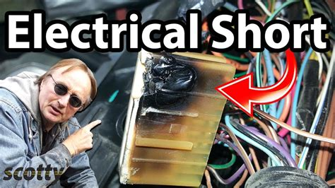 finding  source  electrical shorts   car youtube