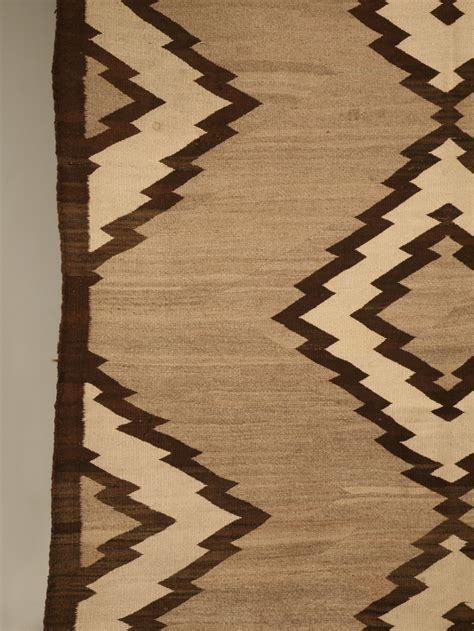 antique navajo indian ganado rug  sale  plank