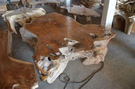 balinese wooden coffee tables exotic coffee table teak root bali wood slab
