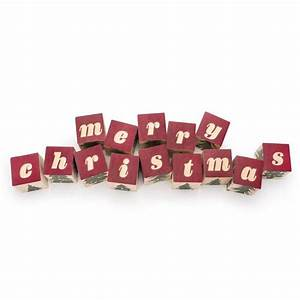 merry christmas wooden alphabet blocks With merry christmas block letters