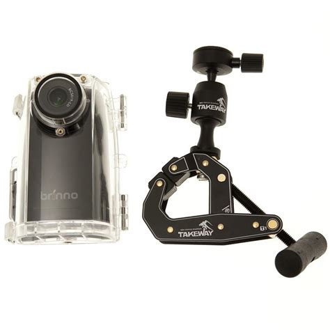 brinno bcc time lapse camera bundle  takeway clamp
