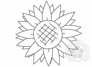 Lotus Flower Petal Template Printable Sunflower Shape Template Flowers Templates