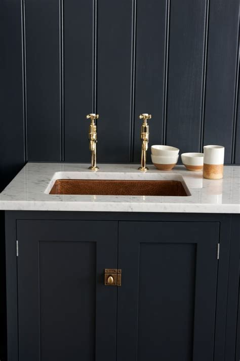 deVOL, beautiful faucet and cabinet latch! Where were they