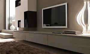 Banc Tv Suspendu : mobilier composable modulnova twenty porto venere ~ Teatrodelosmanantiales.com Idées de Décoration