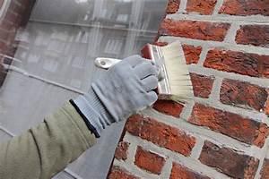 peindre des briques et parpaings la technique en detail With avant de peindre un mur