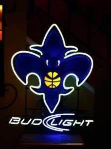 Bud Light NFL Football New Orleans Saints Neon Beer Bar