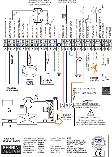 Smart Wiring Diagram by Generac Smart Switch Wiring Diagram Collection