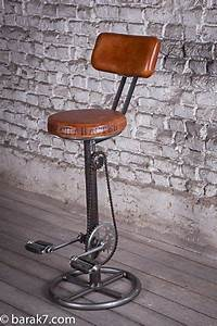 Tabouret De Bar Industriel Avec Dossier : tabouret de bar industriel avec p dales et dossier gallery pinterest stools bar stool and ~ Teatrodelosmanantiales.com Idées de Décoration