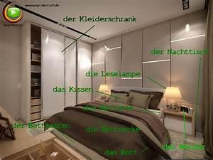 Bilder Für Das Schlafzimmer : vokabeln das schlafzimmer easydeutsch ~ Michelbontemps.com Haus und Dekorationen