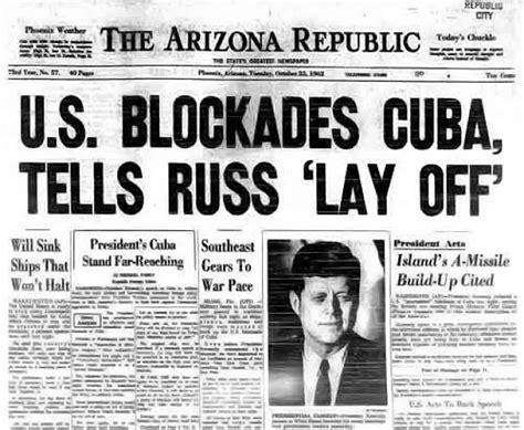 cuban missile crisis  days  confrontation