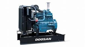 200kva Open Type Doosan Diesel Generator Korea Doosan