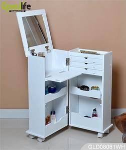 Make Up Schrank : amazon chaude armoire de rangement en bois pour le salon et chambre coucher ~ Frokenaadalensverden.com Haus und Dekorationen