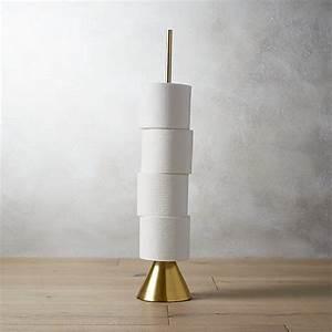 Brass, Toilet, Paper, Storage, Tower