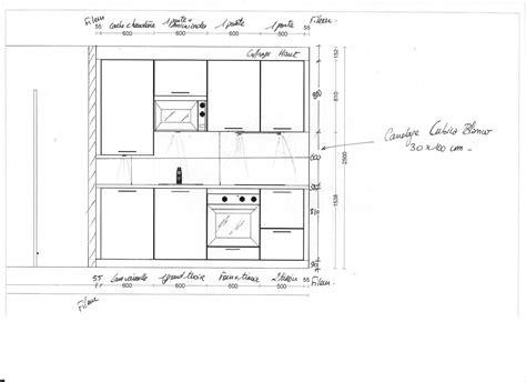 largeur plan de travail cuisine largeur plan de travail cuisine awesome marvelous largeur