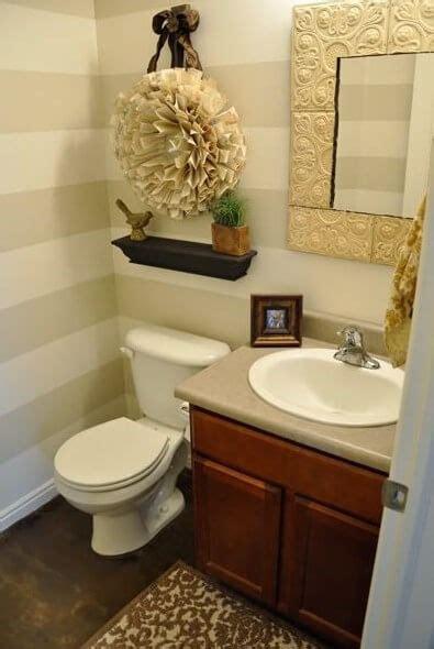 Decorating Ideas For A Half Bathroom  Bathroom Decor