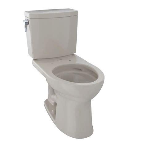 toto drake ii  piece  gpf single flush elongated