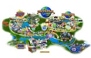 Universal Studios Orlando Map 2014