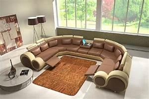 Garnitur U Form : ledersofa polstersofa xxxl ledercouch garnitur sofa wohnlandschaft couch ecksofa ebay ~ Indierocktalk.com Haus und Dekorationen