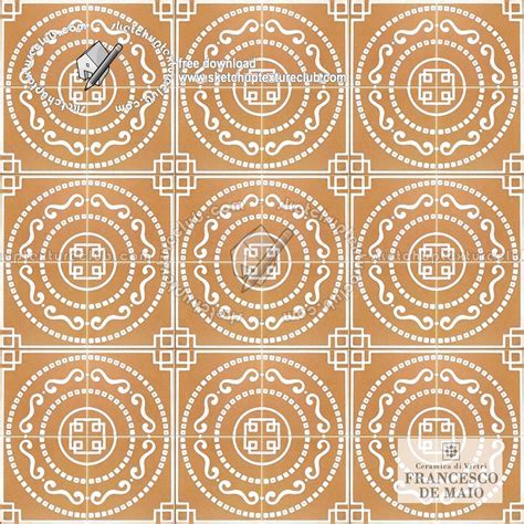 Vietri italy ceramics floor tiles texture seamless 19154