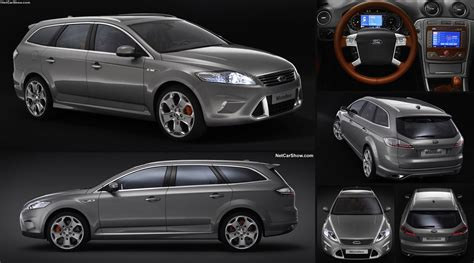 ford mondeo wagon concept  pictures information