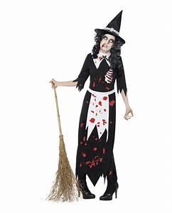 Warmes Halloween Kostüm : zombie hexen kost m untoten verkleidung f r frauen ~ Lizthompson.info Haus und Dekorationen