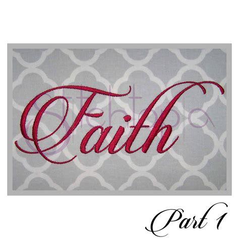 faith embroidery font     stitchtopia