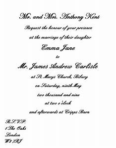 Wedding invitation wording guide wedding invitation for Examples of wedding invitation wording uk