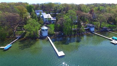 lakefront compound wisconsin luxury homes mansions