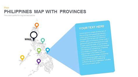 philippines map powerpoint  keynote template slidebazaar