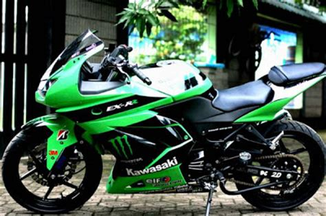 Modification Motor 250 by Kawasaki 250r Modif Motor