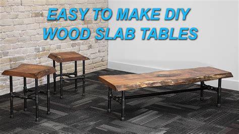 edge wood slab coffee table  epoxy