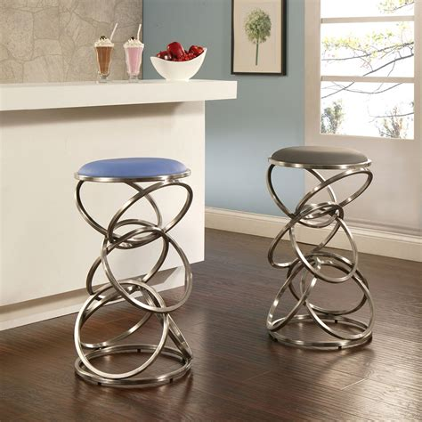 contemporary backless counter height bar stools