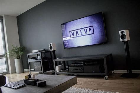 My Gaming Living Room by 25 Best Ideas About Tv Wall Design On Tv
