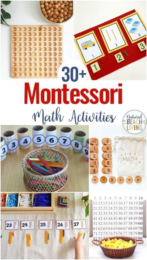 30 montessori math activities for preschool and 937 | montessori math activities 1 1