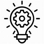Development Idea Icon Excellent Innovative Building Icons